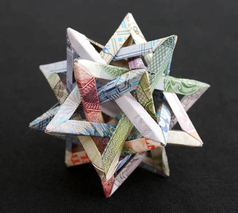 1178 Потрясающие фигуры из денег